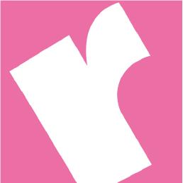 Rphoto rosa logga utan text